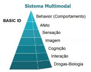 Terapia multimodal - piramide em sete